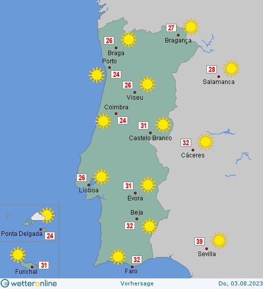 wetter portugal online