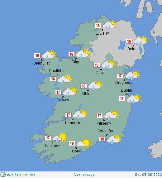 wetter online irland