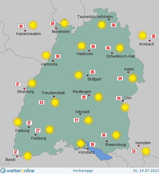 bw wetter 14 tage