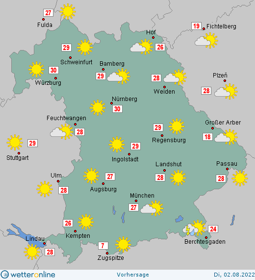 bayer wetter 7 tage