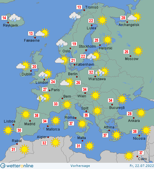 Wetterfilm Europa