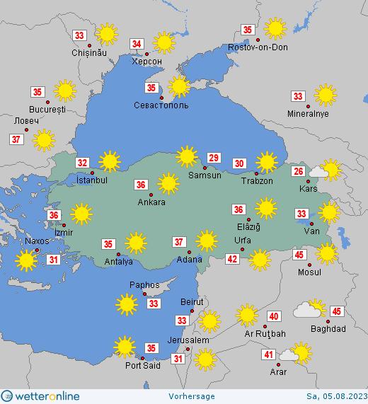 Www.Wetter Türkei
