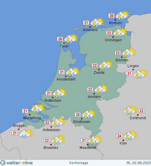 Amsterdam Wetter Heute