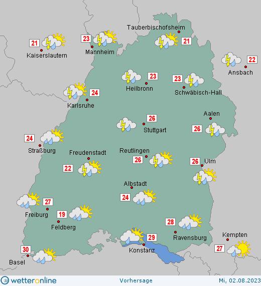 Wetter Baden Württemberg 7 Tage Wetter Wetterde