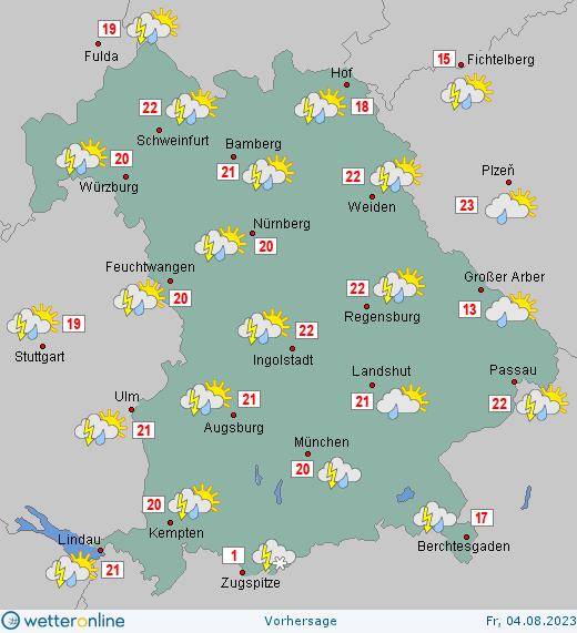 Wetter Bonn 16 Tage Vorhersage