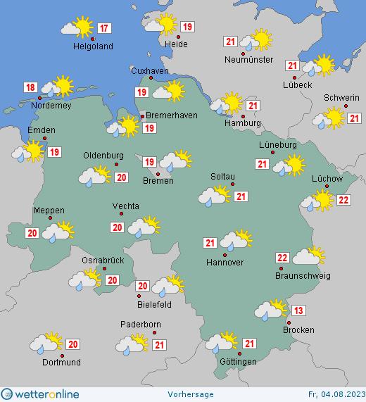 Wetter Niedersachsen Heute