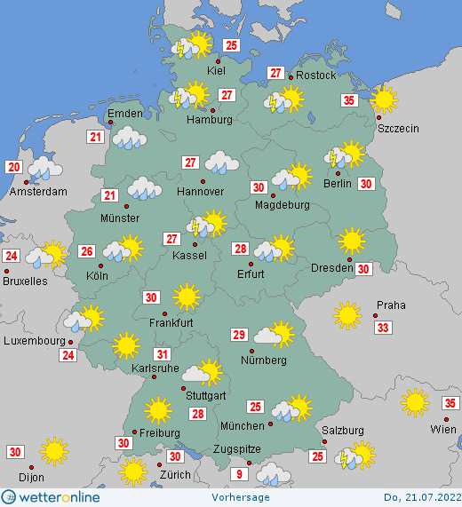 Wetter In Rheinland Pfalz Morgen