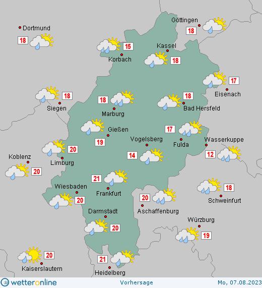 Wetter Hessen Morgen