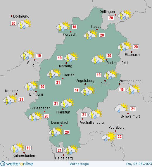 Wetteronline Hessen