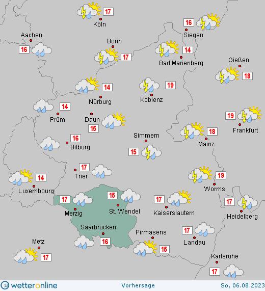 Wetter Saarlouis Heute