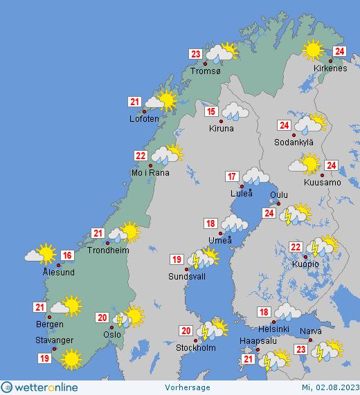 Wetter In Norwegen
