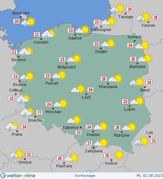 Wetter Polen Wetteronline