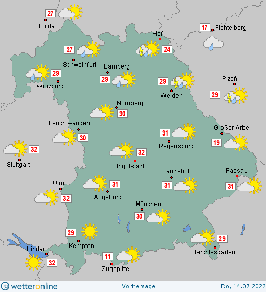 Wetter Bayern Wetteronline