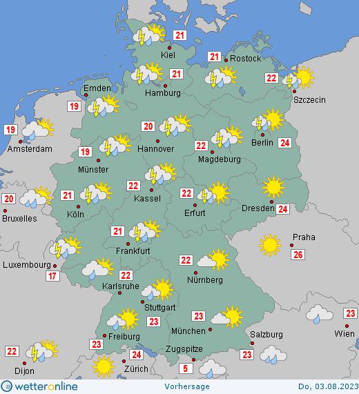 Wettervorhersage Für Morgen