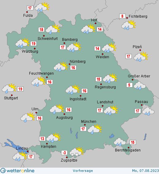 Wettervorhersage Morgen