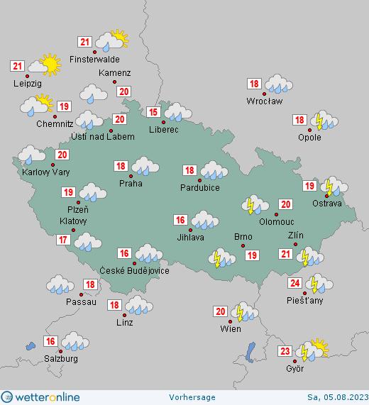 Wettervorhersage Für Weihnachten 2019.Wetter Tschechien Wetteronline