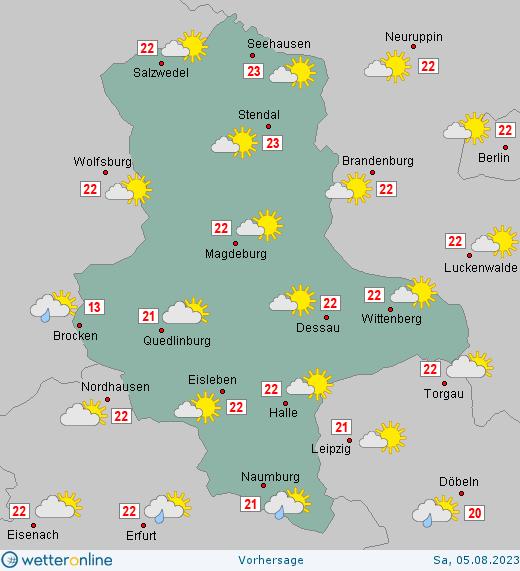 Wettervorhersage Sachsen