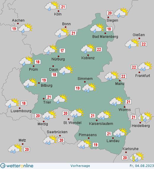 Wetter Pfalz Morgen