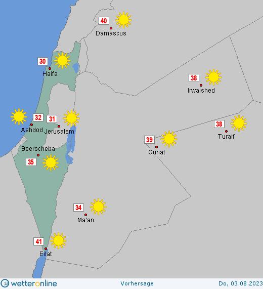 Wetter Israel