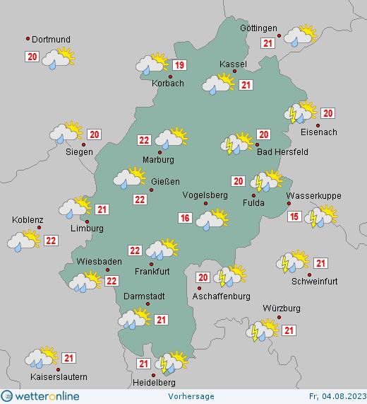 Wetter In Hessen Aktuell