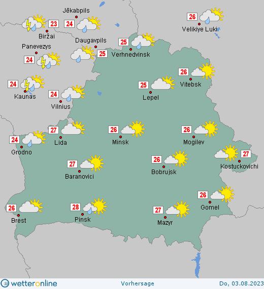 Wetter Belarus