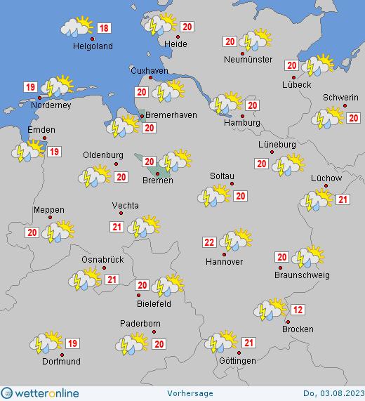 Wetter Morgen Bremen