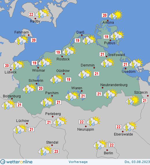 Wetter Mecklenburg-Vorpommern