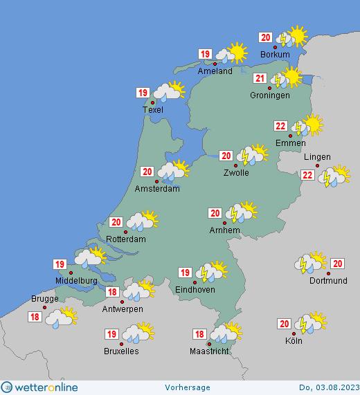 wetter holland amsterdam