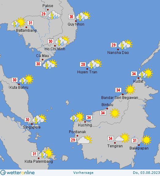 Wetter Singapur