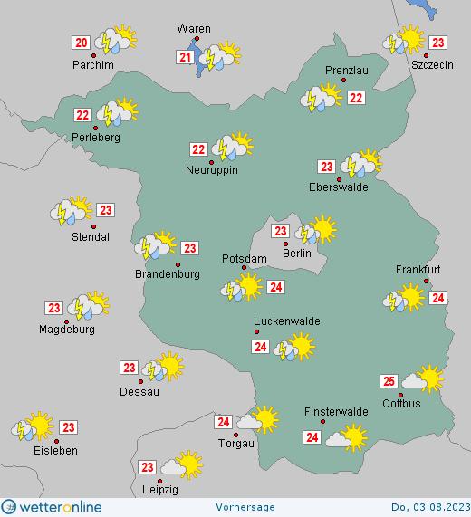 Wetter Brandenburg 14 Tage
