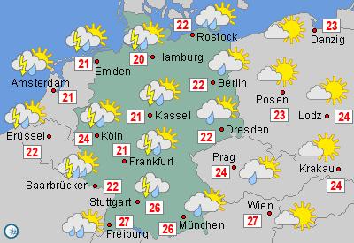 Wetter aktuell, Wettervorhersage und Wetterbericht ...