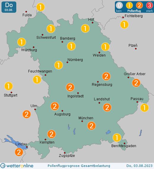 Ozonwerte Nürnberg