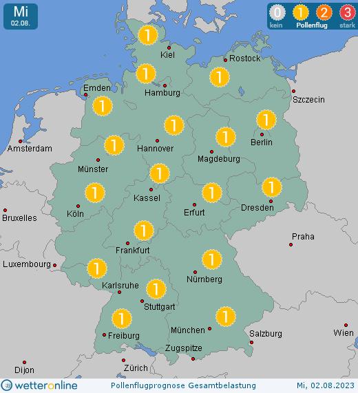 Pollenflug Rheinland Pfalz