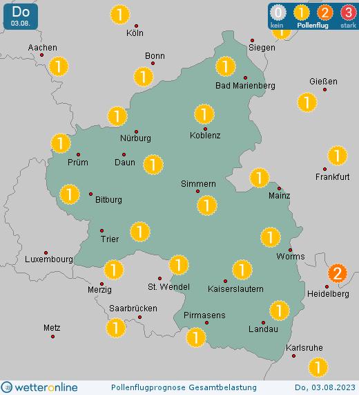 Pollenflug Aktuell Hessen