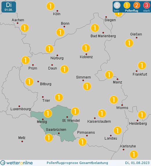 Wetter Online Saarlouis