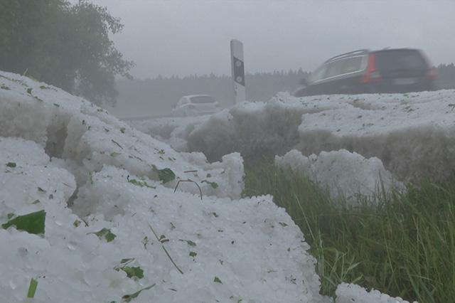 Fotostrecke: Schwere Unwetter am Sonntag - WetterOnline
