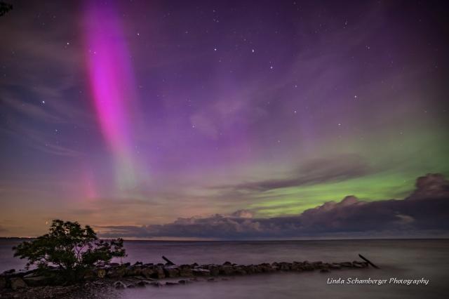 Polarlichter in schönsten Farben