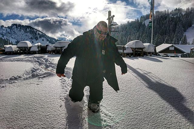 Allgäu: Über halber Meter Schnee