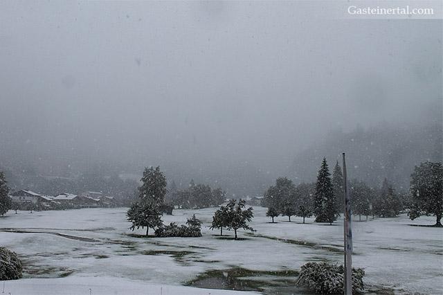 Erster Schnee in den Alpen
