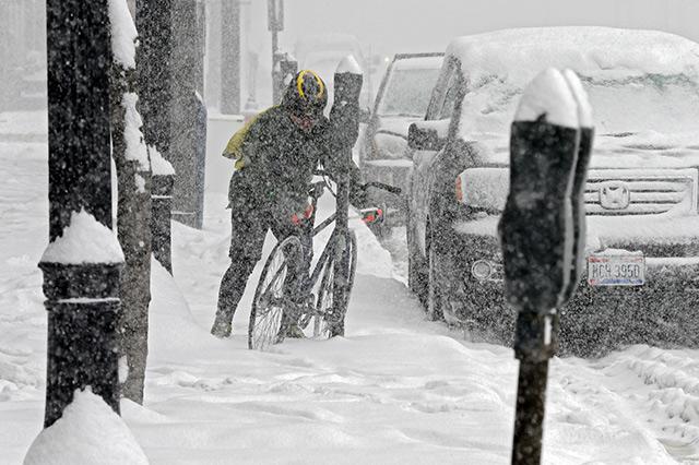 Schon tiefster Winter in den USA