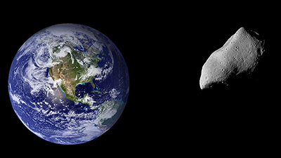 Asteroid Kommt Der Erde Sehr Nah Passage In Halbem Mondabstand