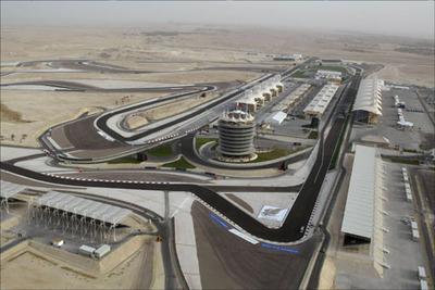 Rennstrecke Bahrain
