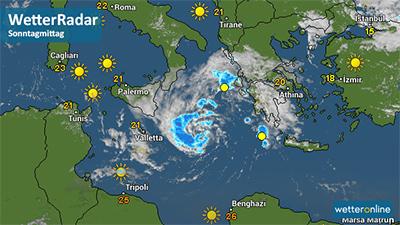 Tropensturm Im Mittelmeer Trixie Rauscht Auf Kreta Zu Wetternews