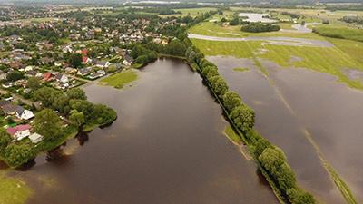 Leegebruch Hochwasser
