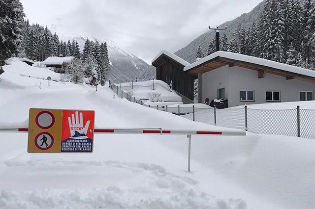 Straßensperren Tirol Aktuell