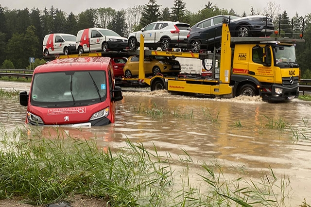 Hochwasser In Bayern Heute
