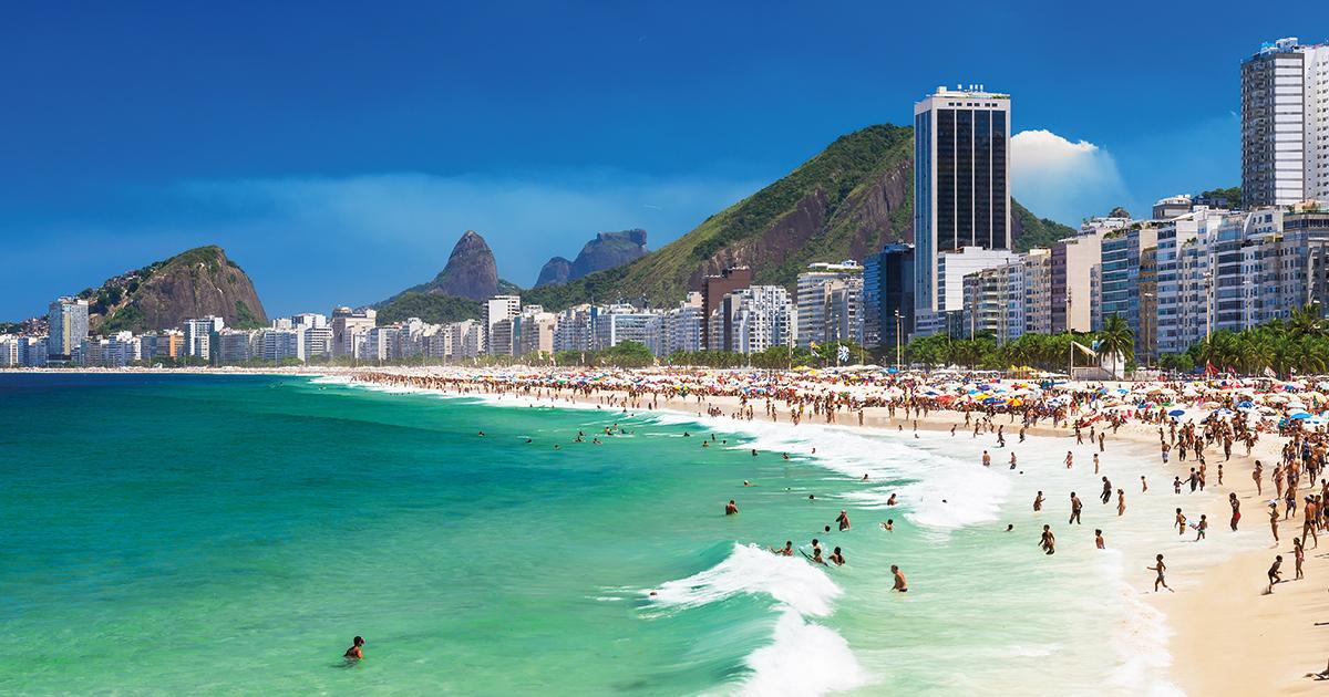 Copacabana Beach Hotel Rio De Janeiro Brazil