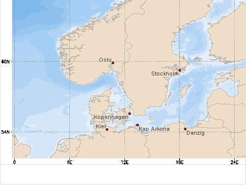 Schwanitz Schleswig Holstein Karte.Segelwetter Westliche Ostsee Wind Wellen Und