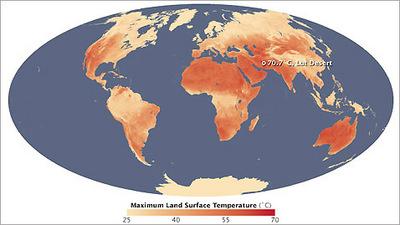 Der Heißeste Ort Der Erde Libysche Wüste Mit 58 Grad Wetternews