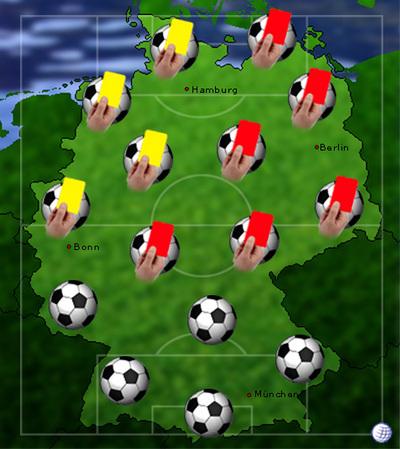 europameisterschaft gelbe karten